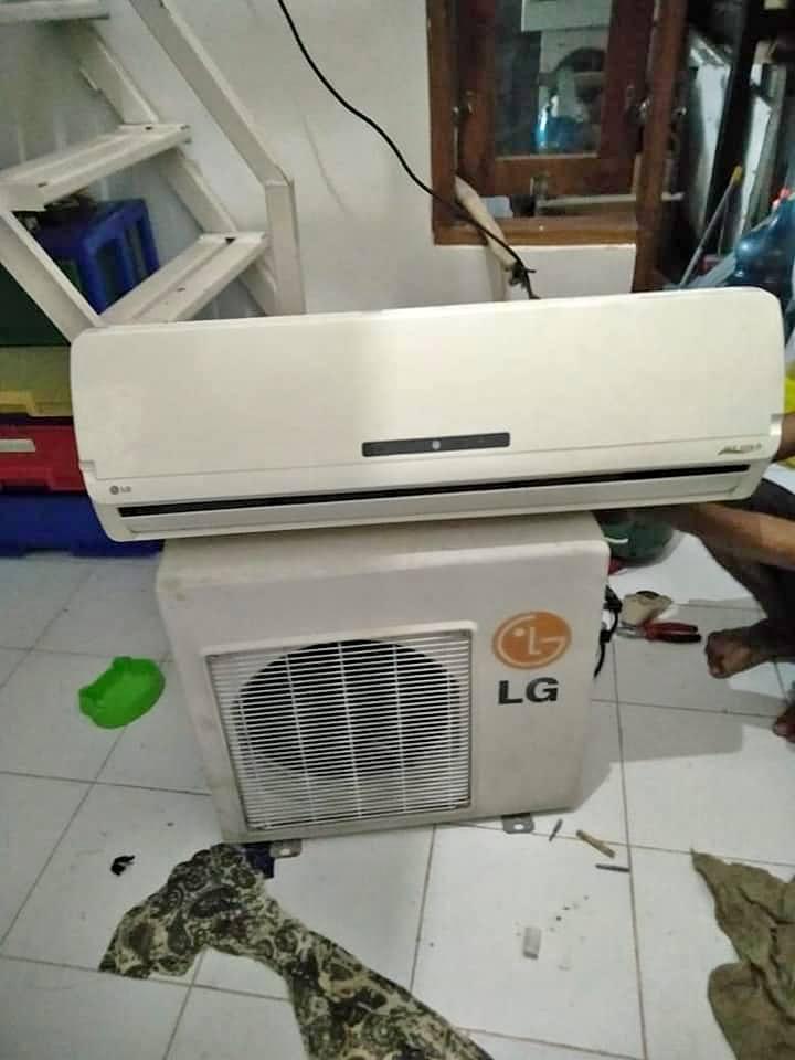 Cleaning AC Gunung Rinjani Bali